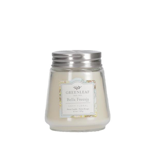 Greenleaf - Duftkerze im Glas - Petite Candle - Bella Freesia