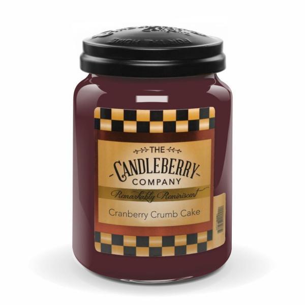 Candleberry - Duftkerze im Glas - Cranberry Crumb Cake