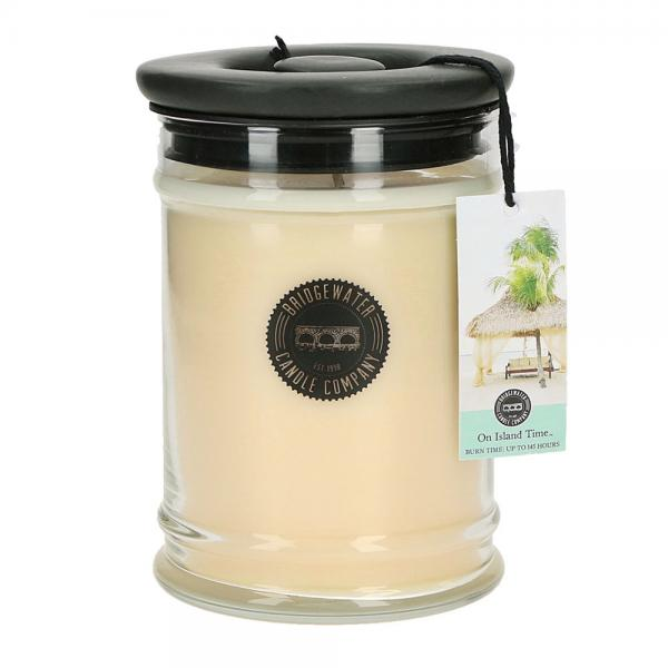 Bridgewater Candle - Große Duftkerze im Glas - Large Jar - On Island Time