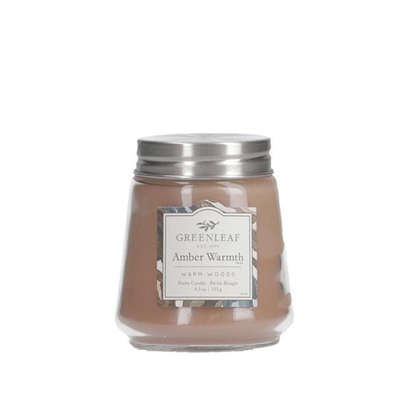 Greenleaf - Duftkerze im Glas - Petite Candle - Amber Warmth