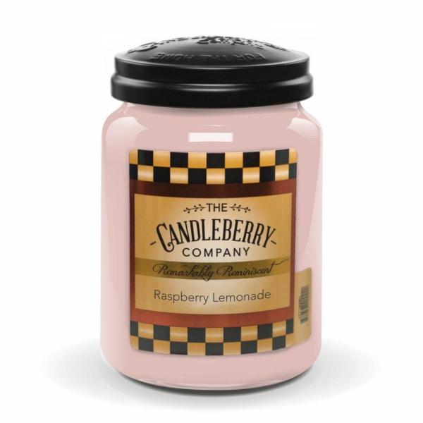 Candleberry - Duftkerze im Glas - Raspberry Lemonade