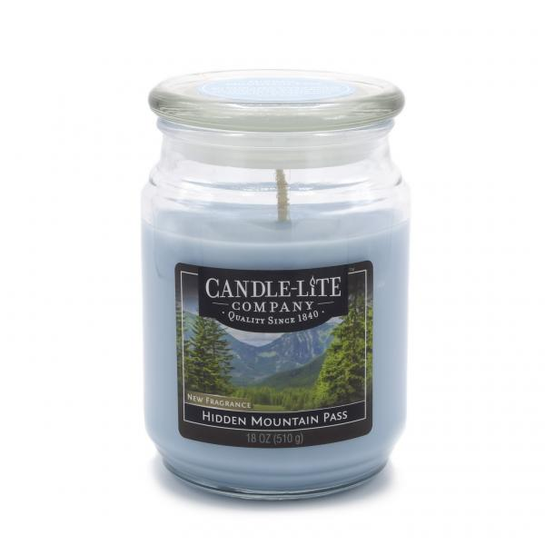 Candle-Lite Company - Große Duftkerze im Glas - Large Jar - Hidden Mountain Pass