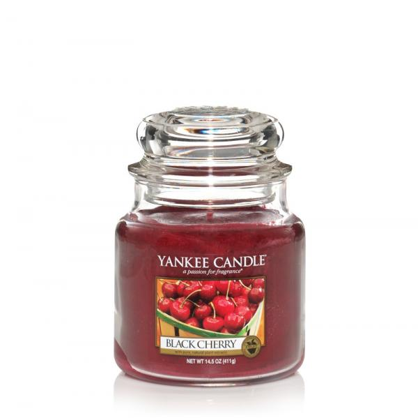 Yankee Candle - Classic Medium Jar Housewarmer - Black Cherry