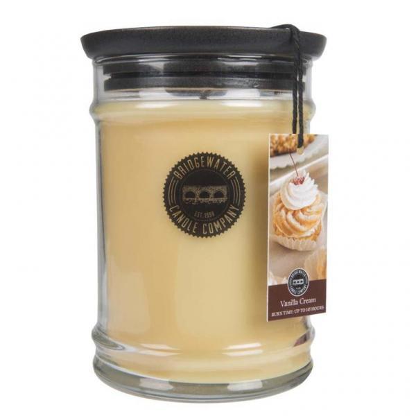 Bridgewater Candle - Große Duftkerze im Glas - Large Jar - Vanilla Cream