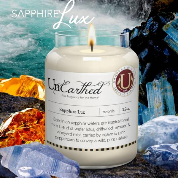 Candleberry - Duftkerze im Glas - Sapphire Lux