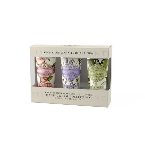 STC - Triple AAA Floral Mini Hand Cream Set
