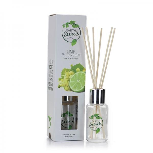 Ashleigh & Burwood - Earth Secrets - Mini Reed Diffuser - Lime Blossom