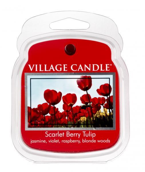 Village Candle - Wax Melt - Scarlet Berry Tulip