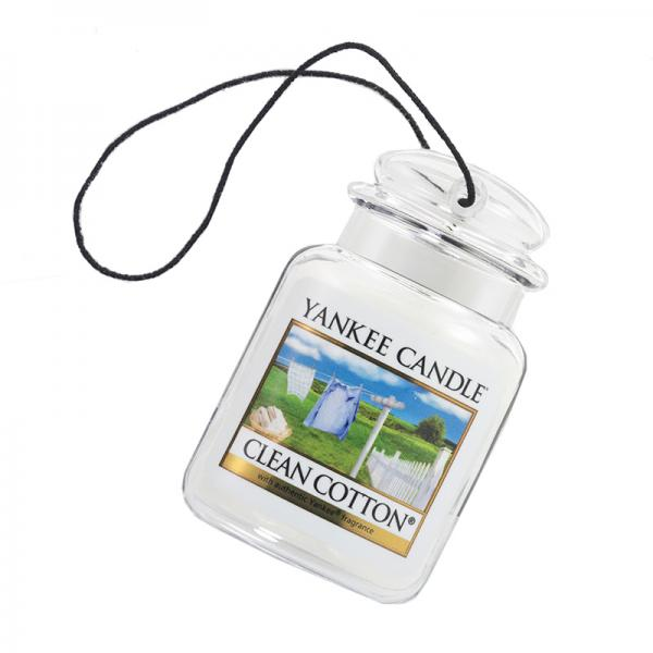 Yankee Candle - Autoduft - Car Jar Ultimate - Clean Cotton