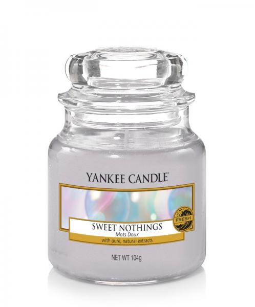Yankee Candle - Classic Small Jar Housewarmer - Sweet Nothings