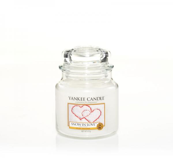 Yankee Candle - Classic Medium Jar Housewarmer - Snow In Love Δ