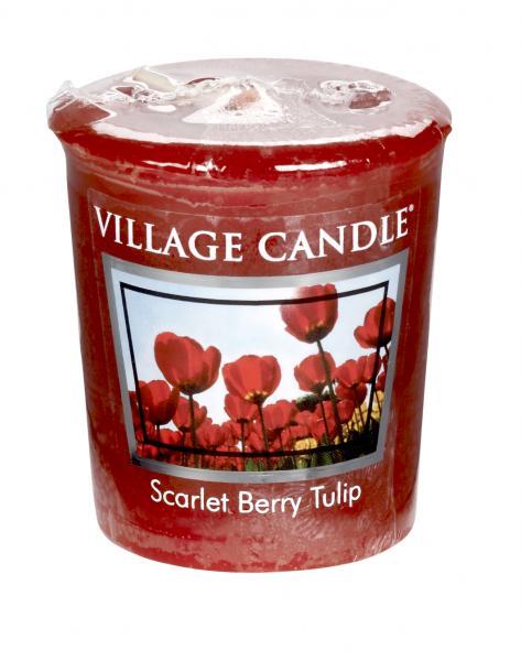 Village Candle - Votivkerze - Scarlet Berry Tulip