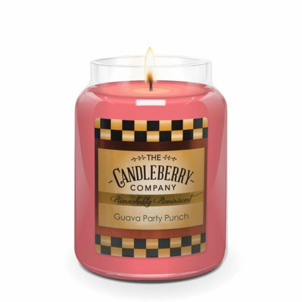 Candleberry - Duftkerze im Glas - Guava Party Punch