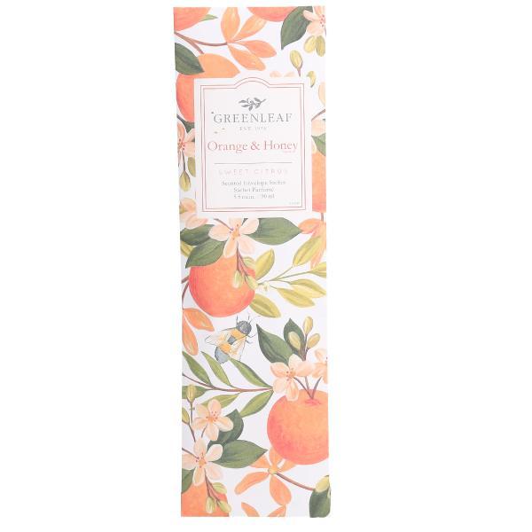 Greenleaf - Duftsachet Slim - Orange & Honey
