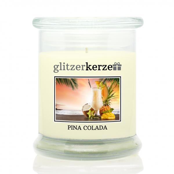 glitzerkerze - Duftkerze - Pina Colada