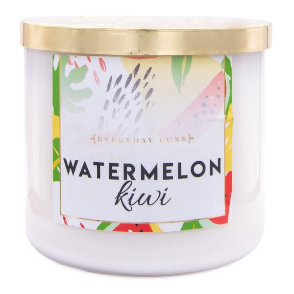 Colonial Candle - Mittlere Duftkerze im Glas - Everyday Luxe - Watermelon Kiwi