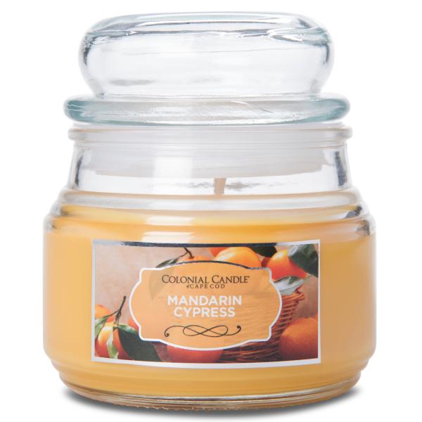 Colonial Candle - Kleine Duftkerze im Glas - Terrace Jar - Mandarin Cypress Terrace