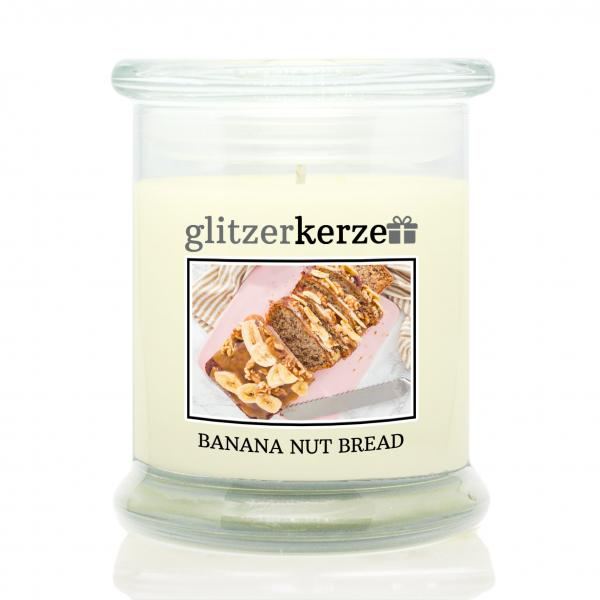 glitzerkerze - Duftkerze - Banana Nut Bread