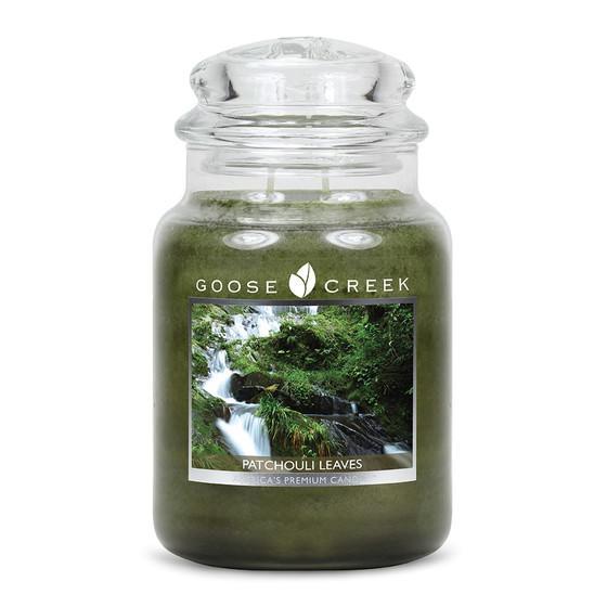 Goose Creek Candle - Classic Jar Duftkerze im Glas - Patchouli Leaves