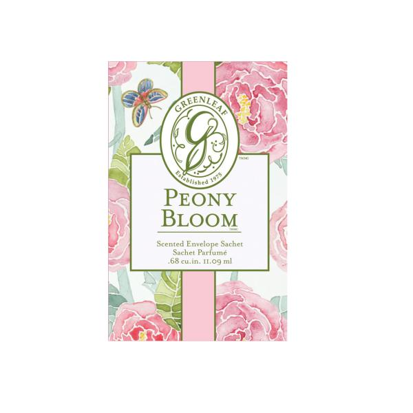 Greenleaf - Duftsachet Small - Peony Bloom