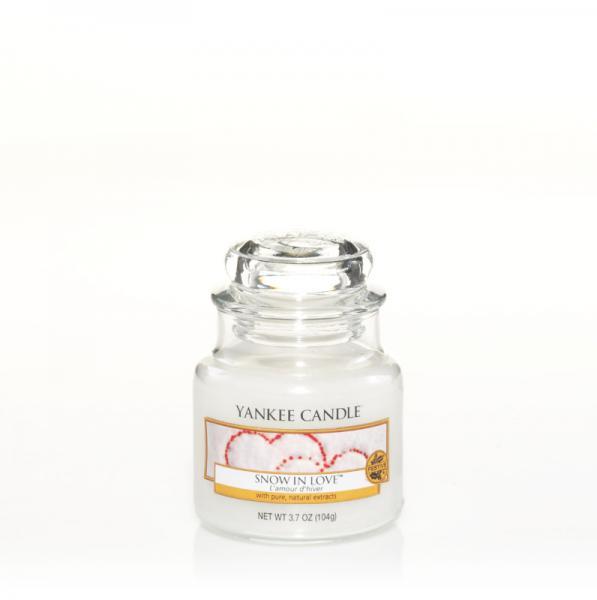 Yankee Candle - Classic Small Jar Housewarmer - Snow In Love Δ