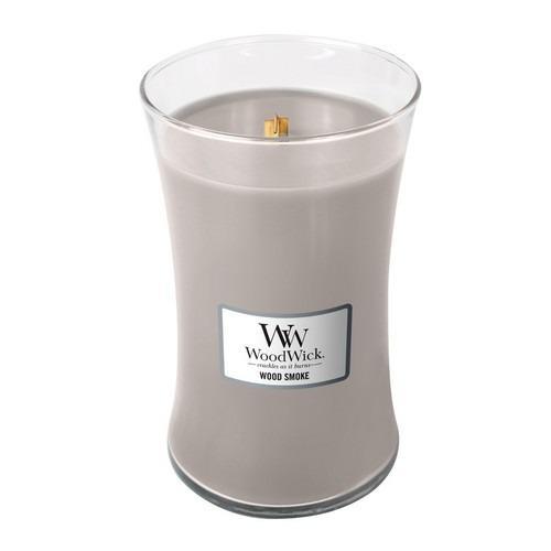 WoodWick - Large Hourglass Duftkerze - Wood Smoke