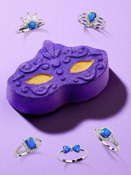 Charmed Aroma - Badebombe mit Schmuck - Masquerade (Ring)