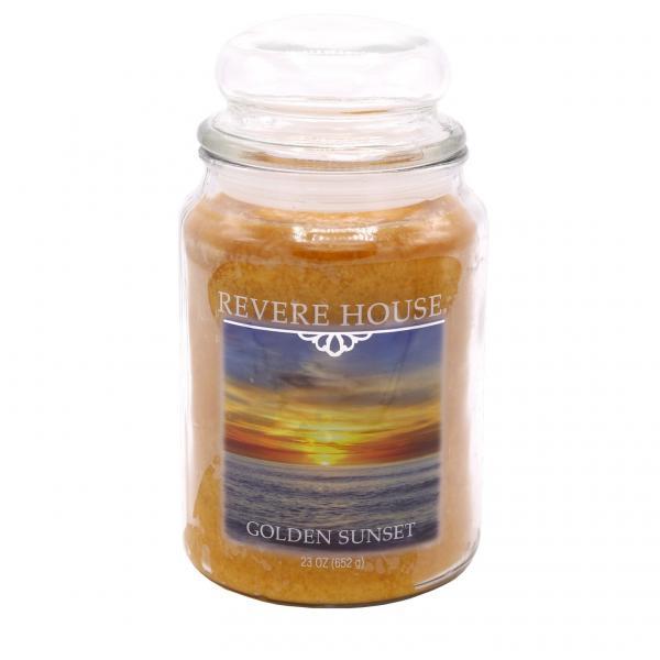 Revere House - Duftkerze im Glas - Large Jar - Golden Sunset