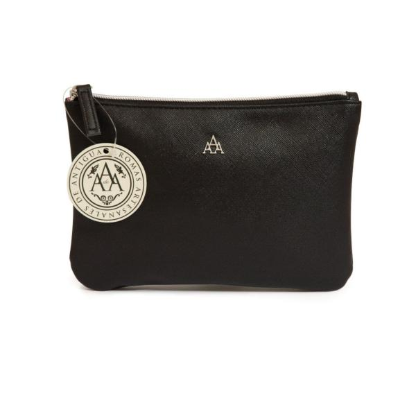 STC - Triple AAA Clutch Purse Small Black