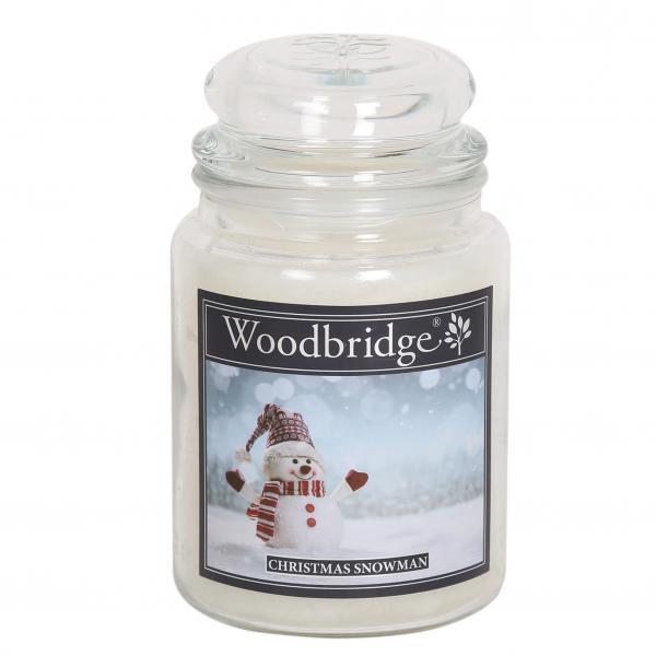 Woodbridge Candle - Große Duftkerze im Glas - Christmas Snowman
