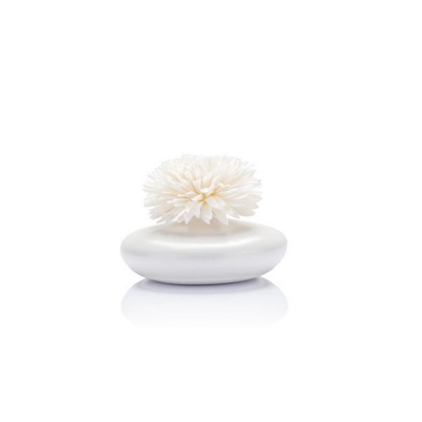 Vogel Frei - Reed Diffuser Vase - Vase mit Diffuser Blume - Weiß