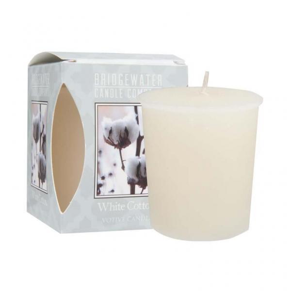Bridgewater Candle - Votivkerze - White Cotton