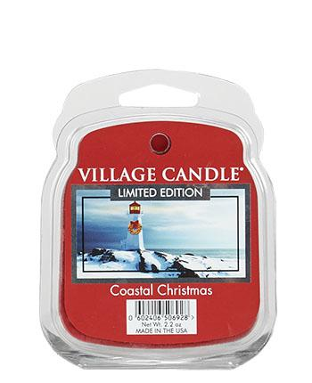Village Candle - Wax Melt - Coastal Christmas