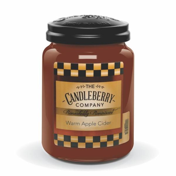 Candleberry - Duftkerze im Glas - Warm Apple Cider