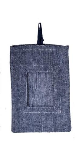 Bridgewater Candle - Baumwoll Duftsachet Bag - Dark Denim - Large