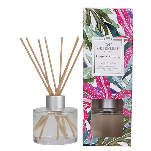 Greenleaf - Signature Reed Diffuser - Tropical Orchid