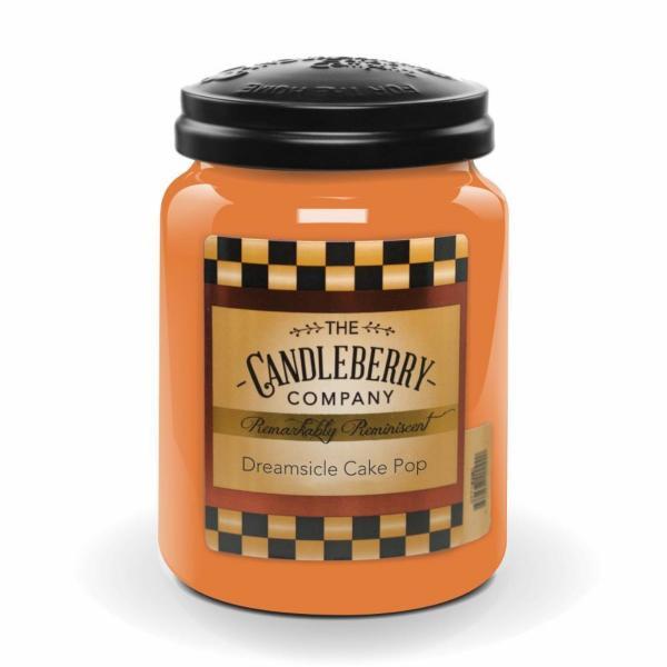 Candleberry - Duftkerze im Glas - Dreamsicle Cake Pop