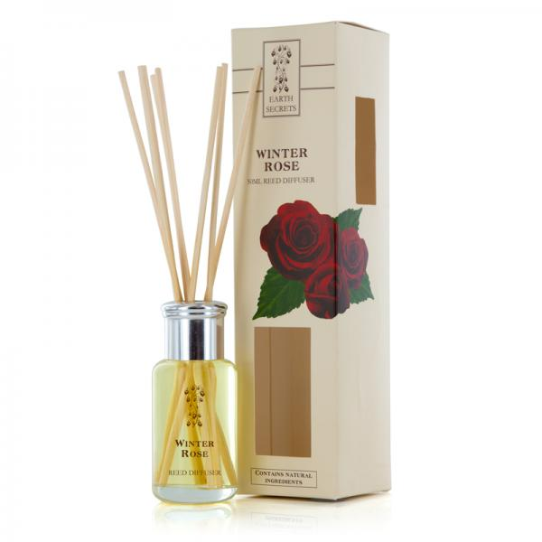 Ashleigh & Burwood - Earth Secrets - Mini Reed Diffuser - Winter Rose