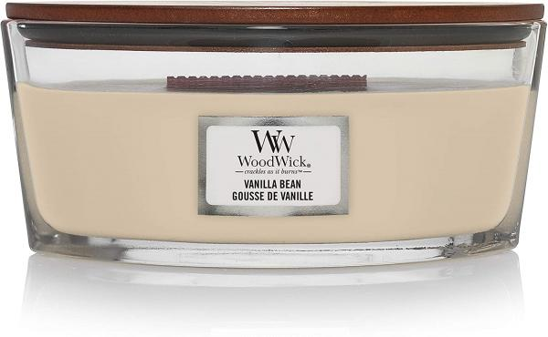WoodWick - Hearthwick Ellipse Jar - Vanilla Bean