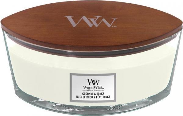 WoodWick - Hearthwick Ellipse Jar - Island Coconut