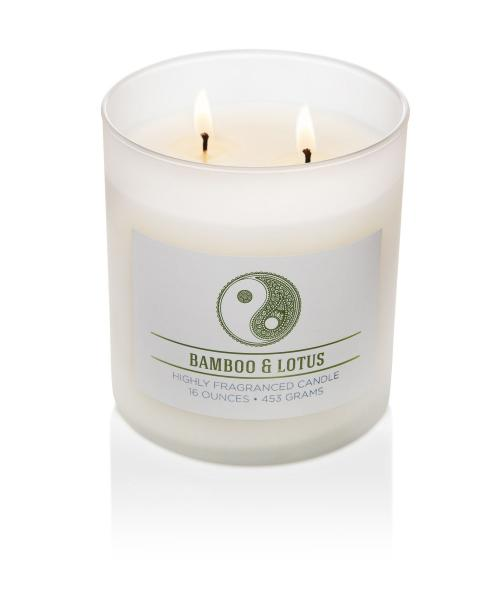 Colonial Candle - Mittlere Duftkerze im Glas - Wellness - Bamboo Lotus