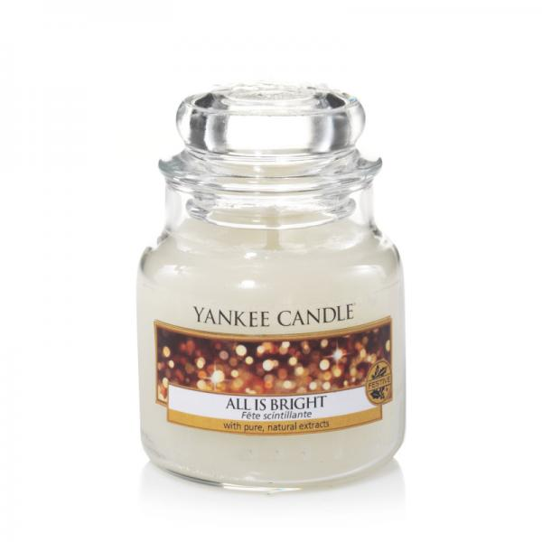 Yankee Candle - Classic Small Jar Housewarmer - All is Bright Δ