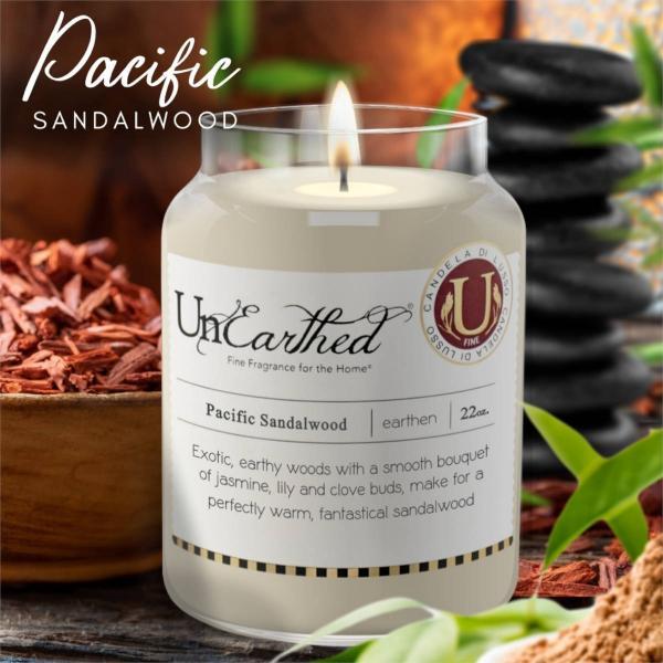 Candleberry - Duftkerze im Glas - Pacific Sandalwood