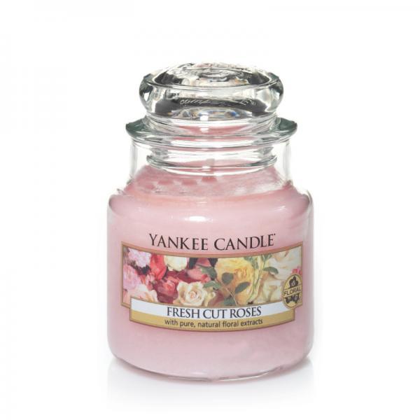 Yankee Candle - Classic Small Jar Housewarmer - Fresh Cut Roses