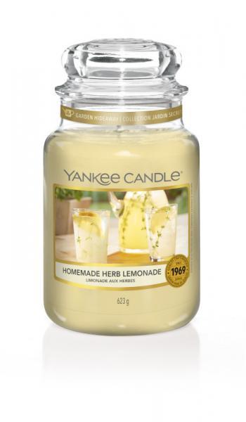 Yankee Candle - Classic Large Jar Housewarmer - Homemade Herb Lemonade