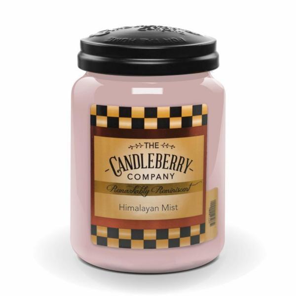Candleberry - Duftkerze im Glas - Himalayan Mist