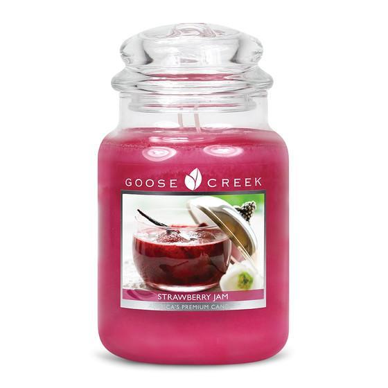 Goose Creek Candle - Classic Jar Duftkerze im Glas - Strawberry Jam