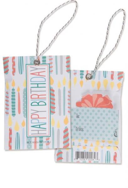 *Willowbrook - Scented Gift Tag - Duftsachet m. Hängeschlaufe - Happy Birthday
