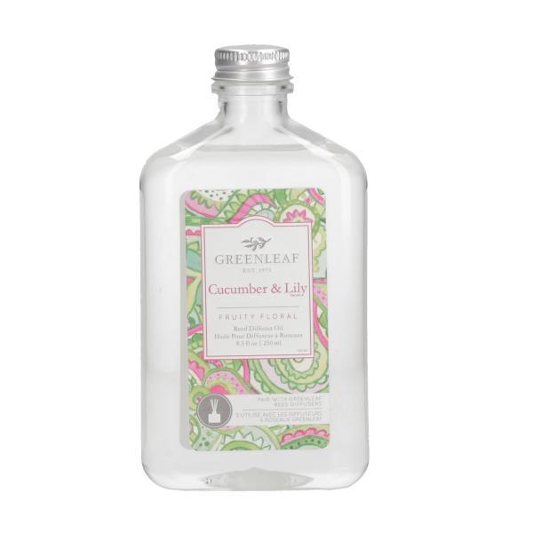 Greenleaf - Reed Diffuser Oil - Reedöl - Cucumber & Lily