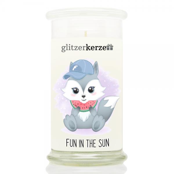 glitzerkerze - CE 07.21 - Fun in the sun